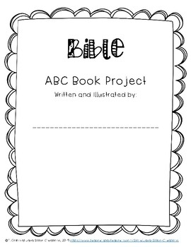 Bible ABC Book Project