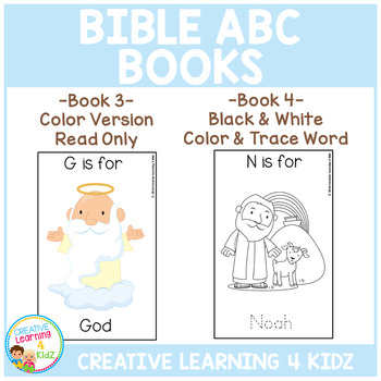 Bible ABC Books