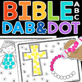 Bible ABC Dab & Dot Worksheets (lowercase)