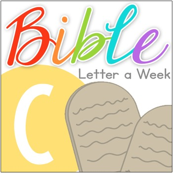 Bible Letter of the Week: C