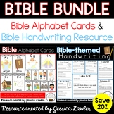 Bible ABC Posters and Handwriting BUNDLE