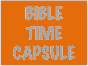 Bible Activities
