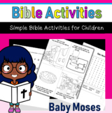 Bible Activities- Baby Moses