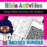 Bible Activities-Moses Bundle