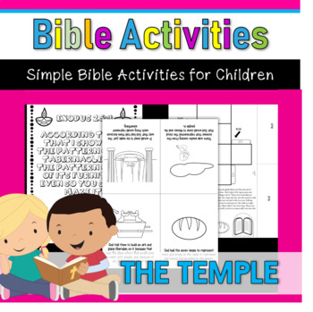 Bible Activities- The Temple