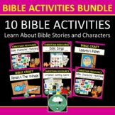 BIBLE GAMES for Kids - Creation Sorting Game, Bible Charac