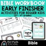 Bible Worksheets, Independent Work Packet