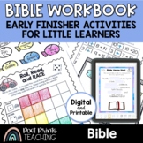 Bible Activity Workbook, Kindergarten First Grade