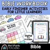 Bible Activity Workbook, Kindergarten First Grade