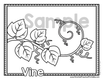 Bible ABC Coloring Pages