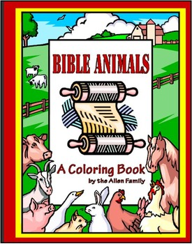 Bible Animals Coloring Book