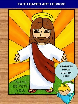 Bible Art Lesson – Inspired by John 20:19-31 -  Peace Be With You