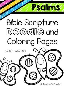 Bible Art Psalms