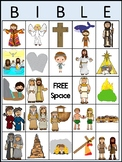 Bible BINGO Printable Game. Preschool Bible History Curric