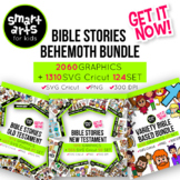 Bible Stories Clip Art GROWING Bundle