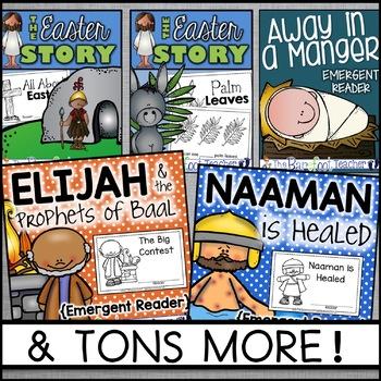 Bible Based Emergent Readers - A Growing Bundle