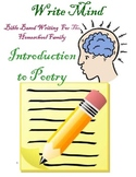 Bible-Based Introduction to Writing Poetry for 4th-8th Grades