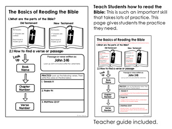 Bible Basics: Lessons and Activities