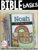 Bible Basics: Noah and the Ark Story Flip Book