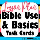 Bible Basics: Scavenger Hunt for Info, Bible Verse Task Ca