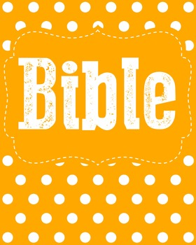 Bible Binder Cover