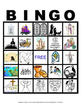 image relating to Bible Bingo Printable named Bible Bingo