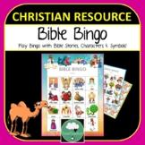 Bible Bingo - Cute Bible Characters Stories Symbols Bingo Game for Kindy - 4