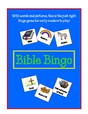 Bible Bingo with Words and Pictures