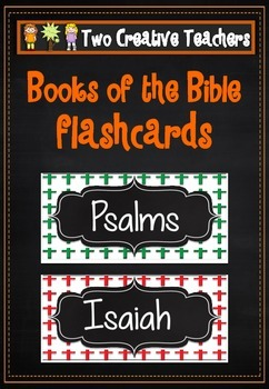 Bible Book Flashcards