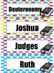 Bible Book Sorting Cards