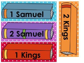 Bible Book of the Week Bulletin Board Set Preschool-Kindergarten Bible.