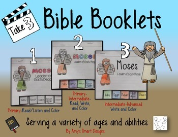 Bible Booklets: Moses