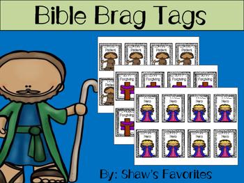 Bible Brag Tags