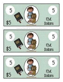 Bible Bucks in Color - Religious Incentive