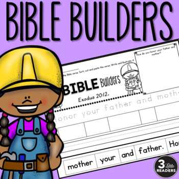 Bible Builders: Trace, Paste and Write