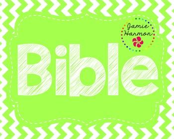 Bible Bulletin Board Headers