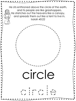 Bible Characters and Verses Shape Tracing printable worksheet. Preschool Bible