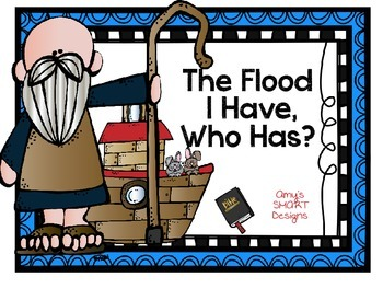 Bible Cards: I Have Who Has-The Flood