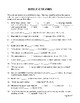 Bible Category and Bible Bowl Quiz Questions