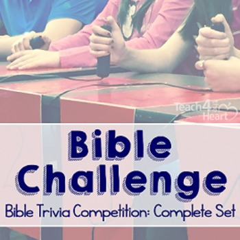 Bible Challenge Complete Year 1 Set: Bible Trivia Competition