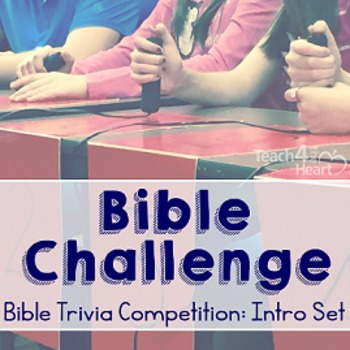 Bible Challenge Introductory Set: Bible Trivia Competition