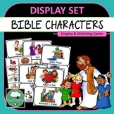 BIBLE CHARACTER POSTERS Bible Stories Posters and Memory Game