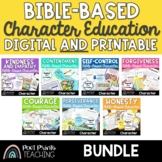 Bible Character Education Lessons, BUNDLE