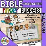 Bible Character Finger Puppets