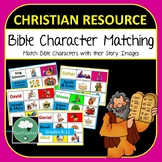 Bible Character Matching Game - Teach Kids Christian Bible Stories Fun Activity