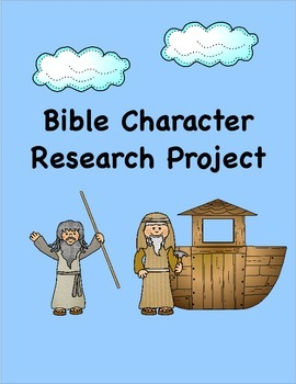 Bible Character Research Project