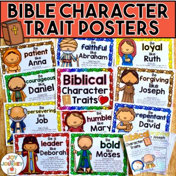 Bible Character Traits By Joy In The Journey By Jessica