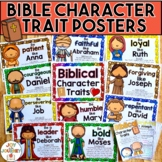 Bible Character Traits Posters