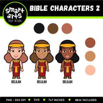 Bible Characters 2 Clip Art