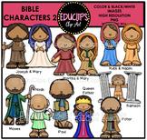 Bible Characters 2 Clip Art Bundle {Educlips Clipart}